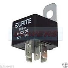 Durite 0-727-44 Mini rendono Break Relè 24 V Volt 20 A Amp TWIN CON STAFFA 5 x 6.3 mm