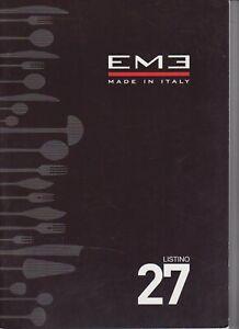 EME - LISTINO 27 - IN INGLESE E IN ITALIANO