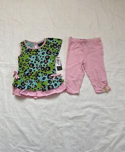 Coogi Baby Girls 2 pieces Set , pink ,Size 12M