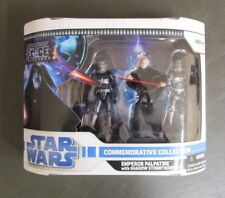 Emperor with Shadow Stormtrooper STAR WARS Commemorative Collection Legacy MIB