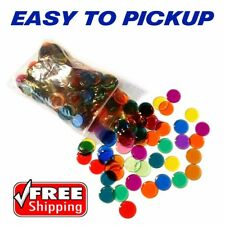 300 EASY PICK BINGO CHIPS - ASSORTED COLOR PACKS - FREE SHIPPING