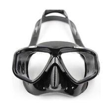 Atomic Aquatics Frameless Scuba Diving Mask -Black- Medium For Smaller Faces