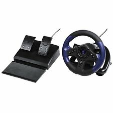 Hama Urage Gripz Racing Wheel Rennlenkrad Lenkrad Vibration Pedale für PC Win 10