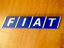 FIAT EMBLEM BADGE LOGO TAIL GATE TIPO BRAVA BRAVO TEMPRA 124 131 115mm X 25mm
