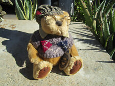 Pickford Bear Sherwood The Brass Button Bear  Handcrafted 1996 Jointed Glasses