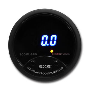 52 mm Turbo Electronic Boost Controller EBC with Digital Display Meter (PSI)