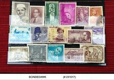 INDIA - SELECTED OLD INDIAN STAMPS - 16V - USED