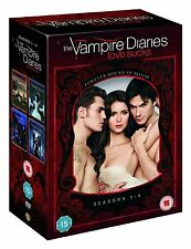 Vampire Diaries Complete DVD 20 Disc Box Set Collection Season 1, 2, 3, 4 NEW