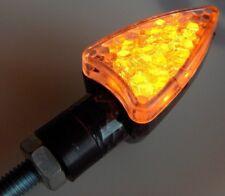 ► 4X LED ARROW SCHWARZ OPTIK BLINKER FÜR HONDA CB 500 NX 250 XL 350 XRV 750 NEU