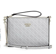 NWT Guess Shantal Crossbody purse Handbag Logo Embossed Black