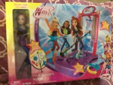 Doll Winx Bloom Doll Rock Concert Stage  2012 in Original  Box