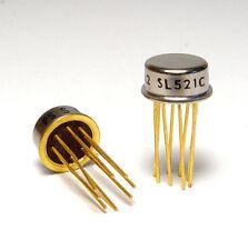 2x sl521c/SL 521 C Wideband/log-Amplifier IC, 150 MHz per ZF-amplificatore, NOS