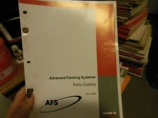 Case Advanced Farming Systems Parts Catalog Manual 7-2523