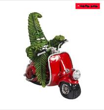 CANNABUDS - Hanfblatt auf Roller - Keramikfigur aus Holland - !!! KULT !!!