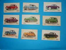 lot 9 IMAGES PONTIAC OPEL OLYMPIA PEUGEOT 203 CHEVROLET ROSENGART FORD COMETE