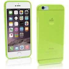 """Brillante Tpu Gel Funda Protectora Para Apple Iphone 6 & 6s 4.7 """"Skin Bumper + Screen Prot"""