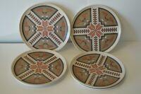 Vintage Melmac Melamine Dinner Plates Southwest Design Decor Ranch Cowboy Food