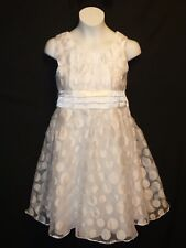 Sz 12 Bonnie Jean Girls Dress party Holiday Wedding Bride Prom Pageant Easter