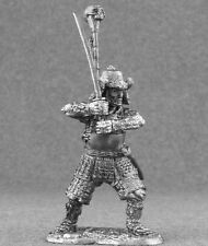 Tin Miniature Toy New Medieval 1/32 Japan Samurai Sculpture Warrior Soldier 54mm