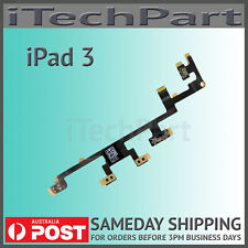 Power On Off Switch Volume Switch Flex Cable Replacement For iPad 3