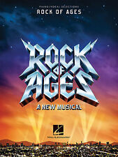 ROCK OF AGES A NEW MUSICAL PIANO VOCAL SELECTIONS SHEET MUSIC SONG BOOK NEW