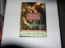 Mistress Shakespeare by Karen Harper (2009)  SIGNED 1st/1st