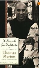 THOMAS MERTON A Search for Solitude VOL 3 Trappist Cistercian 1st Edition Monk