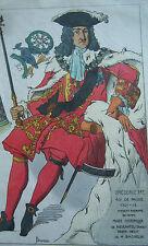 COSTUME PORTRAIT ILLUSTRATION COULEUR FREDERIC 1er ROI de PRUSSE 1701 JACQUEMIN