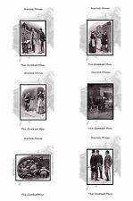SHERLOCK HOLMES ILLUSTRATIONS- THE CROOKED MAN/ THE DANCING MEN- POSTCARD SET