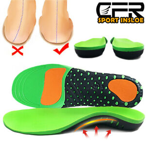 Orthotic Shoes Insoles Inserts Flat Feet High Arch Support For Plantar Fasciitis
