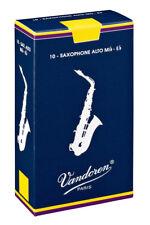 Vandoren SR2125 Traditionell Blätter für Altsaxophon Stärke 2,5 Schachtel mit 10