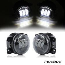 "Firebug 4"" Round Led Fog Lights for Jeep Wrangler,  Fog Lamps Led Bulb Off Road"