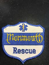 MONMOUTH RESCUE  Patch