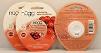 lot 3 x nugg exfoliating skin smooth face mask cranberry seed oil jojoba bead