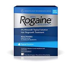 ROGAINE EXTRA STRENGTH HAIR REGROWTH WORLD SHIP 3 MONTH TREATMENT FRESH