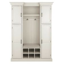Home Decorators Collection Royce Polar White and Solid Black 60, shelf