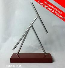 The Swinging Stick Red Edition-IRON MAN Kinetic Energy Desk Sculpture