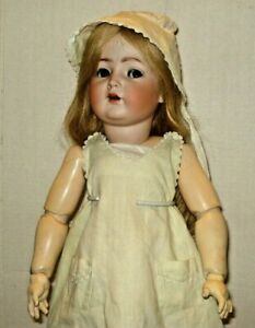 """Vintage 23"""" Bisque Head K*R Simon Halbig No. 117 n Doll  Jointed Body Germany"""