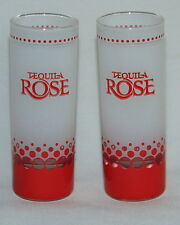 tequila rose tall shotshooter glasses set of two