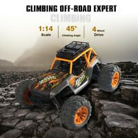 1:14 2.4Ghz 4WD 36Km/h Alloy RC Truck Car/Remote Control Car Off Road RTR Yellow