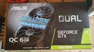 ASUS Dual NVIDIA GeForce GTX 1660 Super O6G Evo Fan (DUAL-GTX1660S-O6G-EVO)