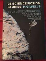 28 Science Fiction Stories H.G. Wells Copyright 1952 HC/DJ