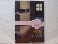 Alessandro Mendini - Casa per Giulietta - Bianca & Volta editori - Prima ed 1982