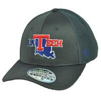 NCAA Zephyr Louisiana Tech Bulldogs Flex Fit Medium Large Hat Cap Jersey Mesh