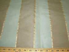 ~5 1/8  YDS~FAUX SILK~ELEGANT STRIPES WOVEN UPHOLSTERY FABRIC FOR LESS~