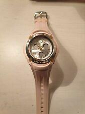 Casio Women's Baby-G BG-191 Pink Digital Quartz Watch Shock Resistant