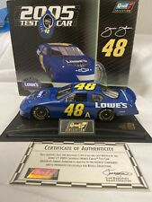 2005 Jimmie Johnson #48  With Test Car Lowes Test Car 1/24 Revell