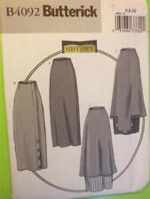 Butterick Sewing Pattern 4092 Ladies Misses 1914 Basque Skirt Size 6-10 Uncut