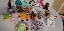 Lot of Ty Beanie Babies Collection. Also one other brand beanie baby snuck in.