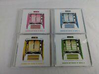 Lot of 4 CD's Giants of Rock 'N' Roll, Vol. 1 2 3 4 - Various Artists CD Set
